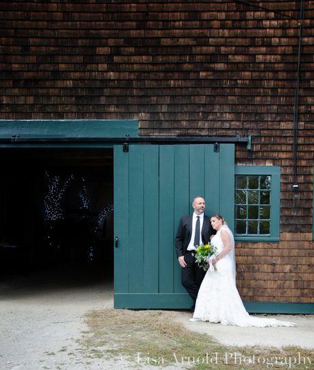 Barn Door & Couple