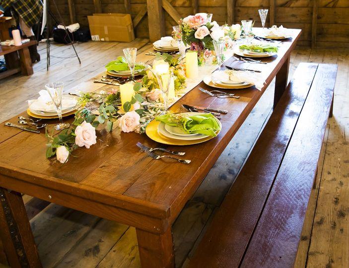 Barn Summer Table