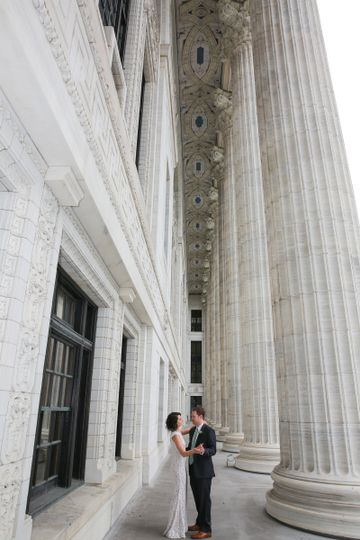 wedding couple in albany ny by aperture photograph