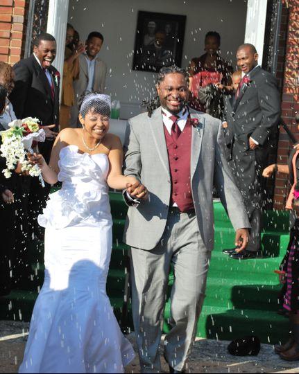 Newlywed couples