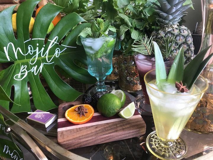Custom specialty cocktails