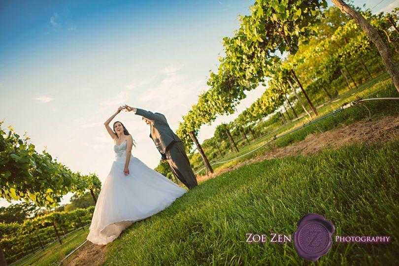 Twirling in the Vineyard