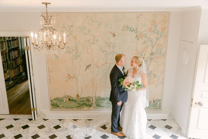 Manor wedding, lakewold garden