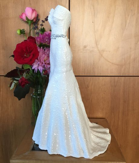 Wedding Gown Cleaning And Preservation Cost: Ceramic Bridal Replicas