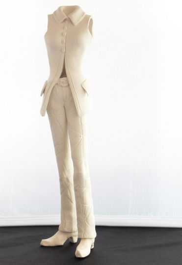 Clay tuxedo replica