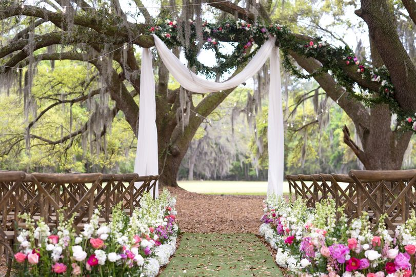 Angel Oak Canopy ceremony