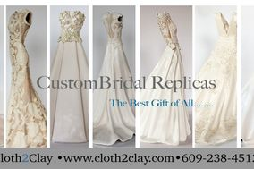 Cloth2Clay - Ceramic Bridal Replicas