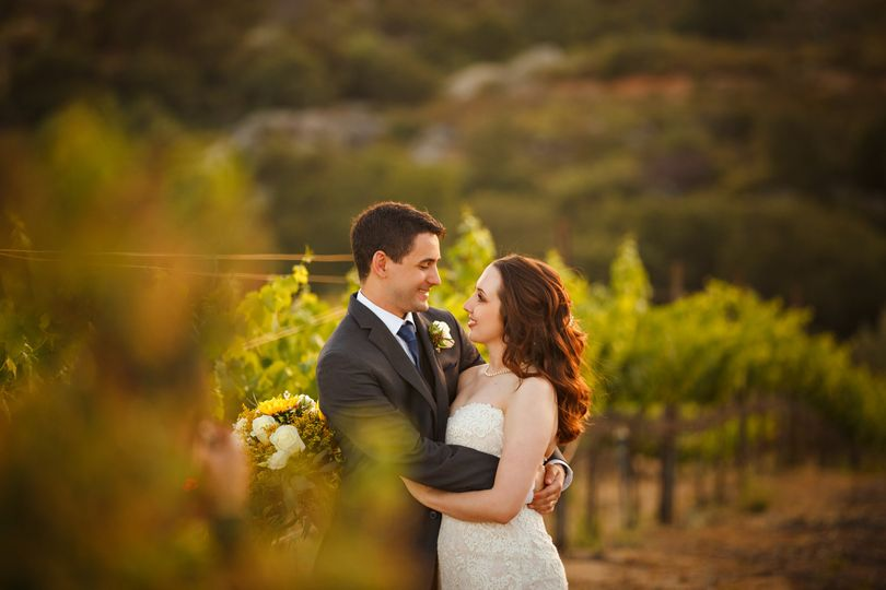 Wedding at winery