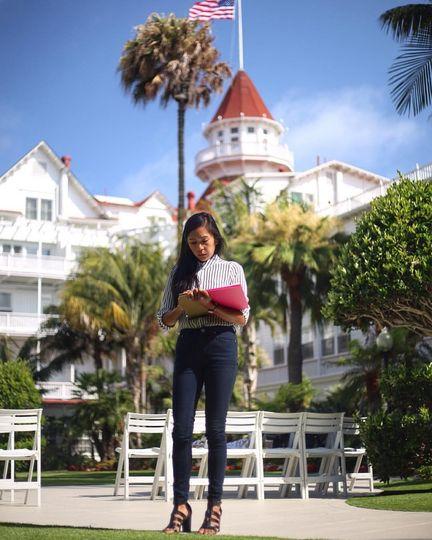 Hotel Del Coronado Wedding Prep