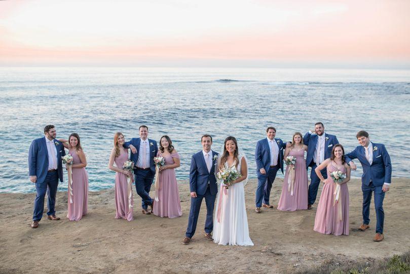 La Jolla Wedding Party
