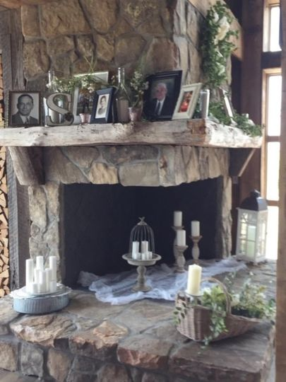 Memorial Fireplace