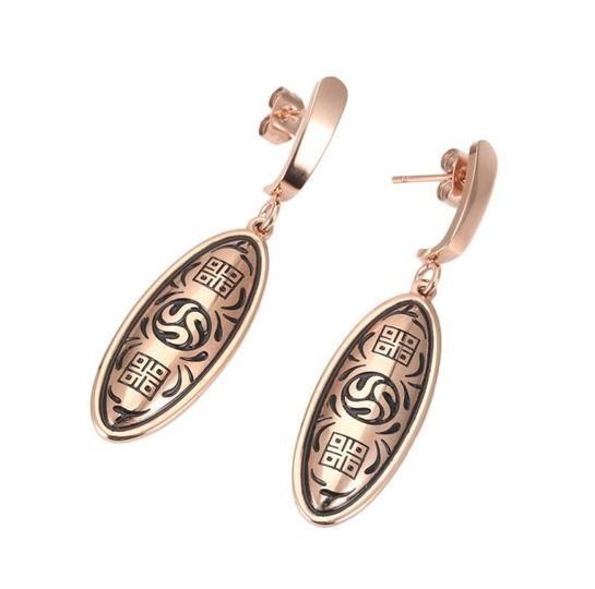 Rose Gold Earrings NEW