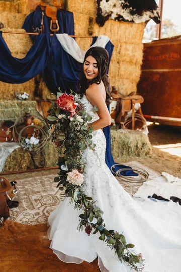 A county bride