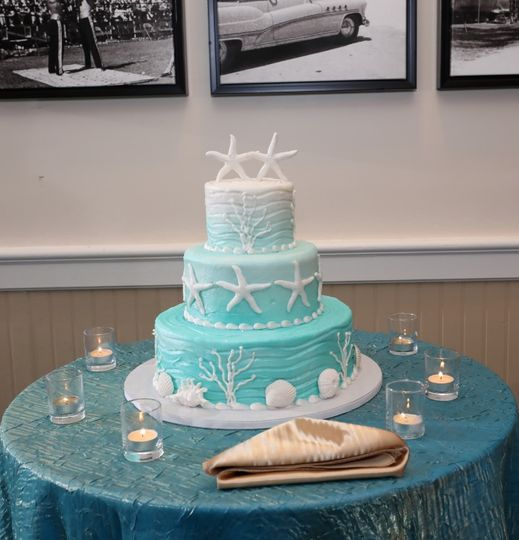 Custom Cake is Included