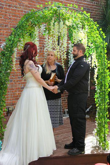 Beer Garden Ceremony