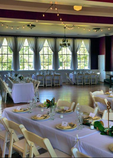 Wedding Party Setting