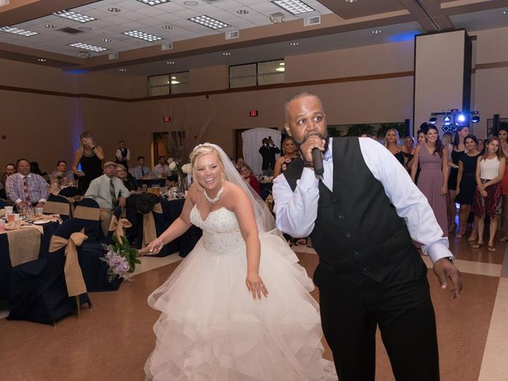 Tmx Smooth Mic Bride 51 787571 Royal Oak, Michigan wedding dj