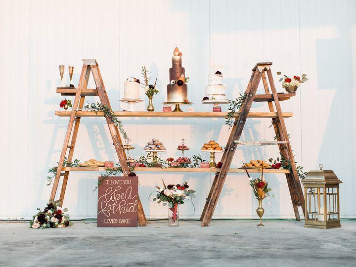 Ladder Dessert Display