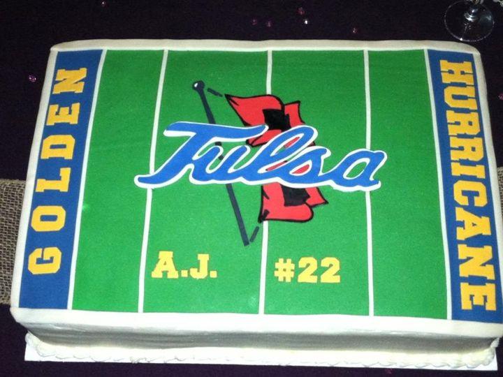 Tmx 1353556285905 TU Tulsa wedding cake