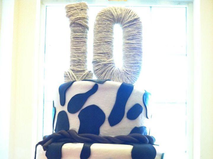 Tmx 1353556313519 Cowgirl Tulsa wedding cake
