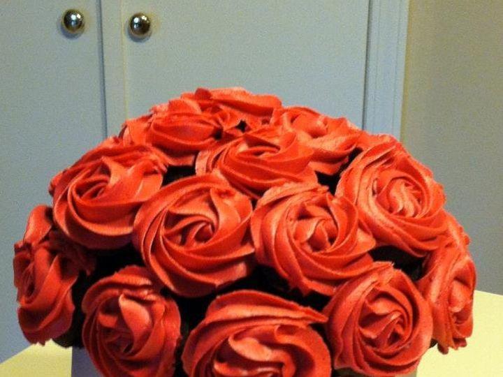 Tmx 1353556323899 Roses Tulsa wedding cake