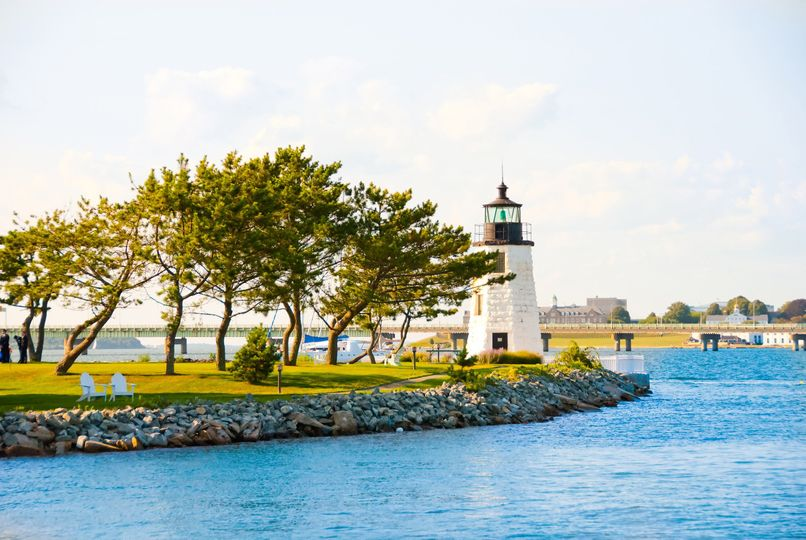 Overview of the Gurney's Newport Resort & Marina