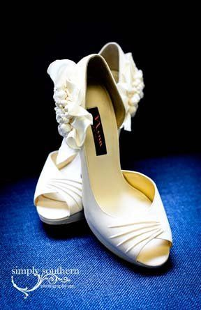 Beautiful shoes for bride!