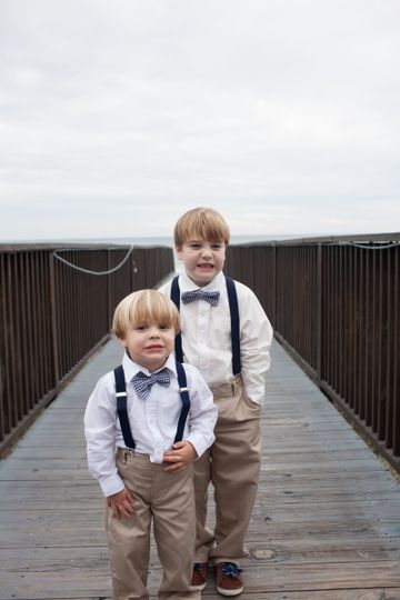 Junior groomsmen