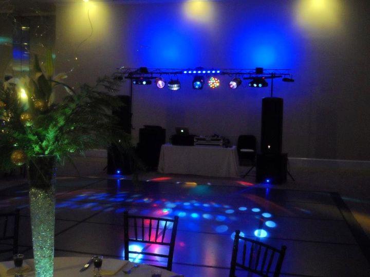 Tmx 1355759478079 Gardendancefloorlighting Cary wedding dj