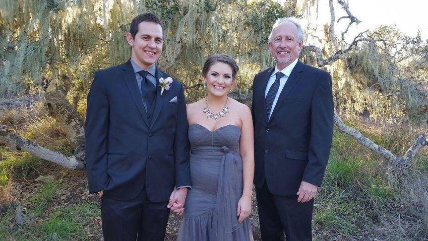 ricbride and groom
