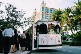 Miami White Trolley