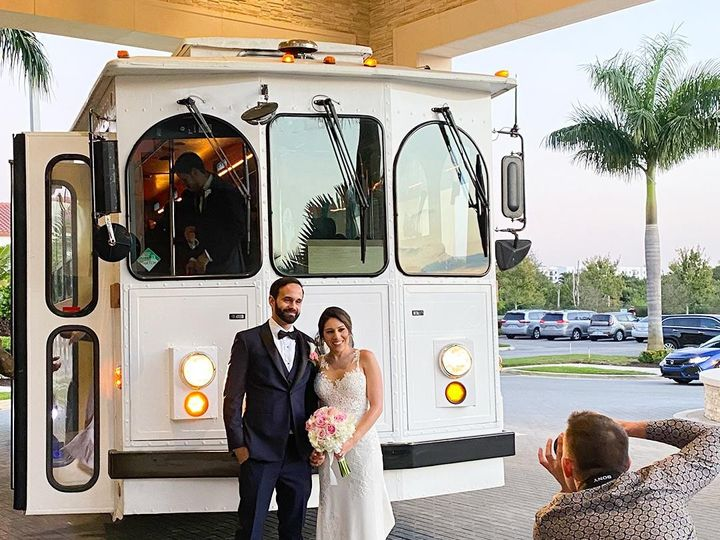 Tmx Trolley Photoshoot 51 1032671 158690019743718 Miami, FL wedding transportation