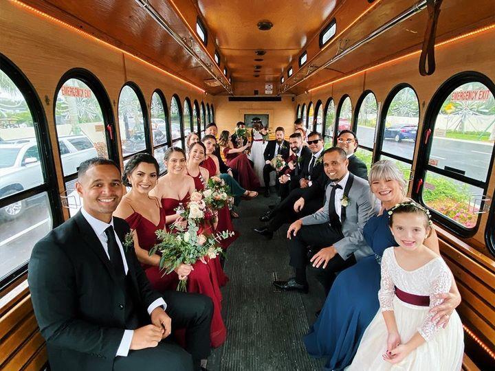 Tmx Trolley Wedding Transportation 51 1032671 158690025132703 Miami, FL wedding transportation