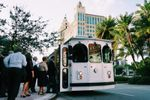 Miami White Trolley image