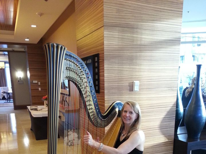 Tmx 1444595721785 Harp Pan Pacific Austin, TX wedding ceremonymusic