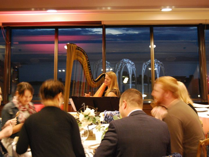 Tmx 1444595754034 Harp Space Needle Dinner Austin, TX wedding ceremonymusic