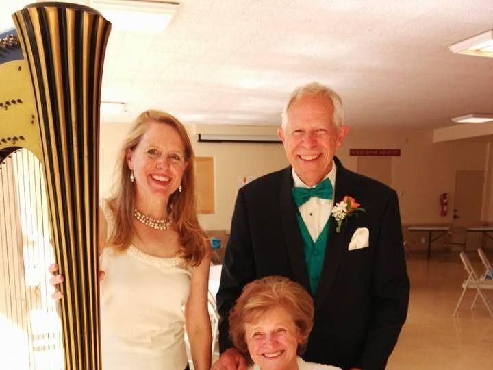 Tmx 1444595779483 Harp Weddings Bonnie 2014 Austin, TX wedding ceremonymusic