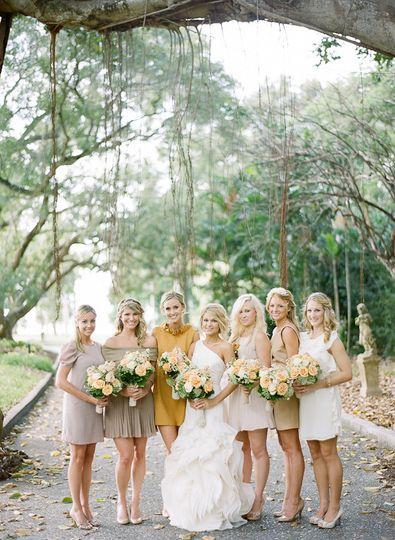 Wedding party, Ringling Museum Sarasota