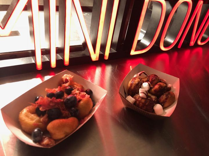 Build-your-own donut bar!
