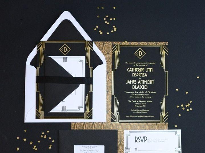 Tmx 1415835518375 Katie4 Hoboken wedding invitation