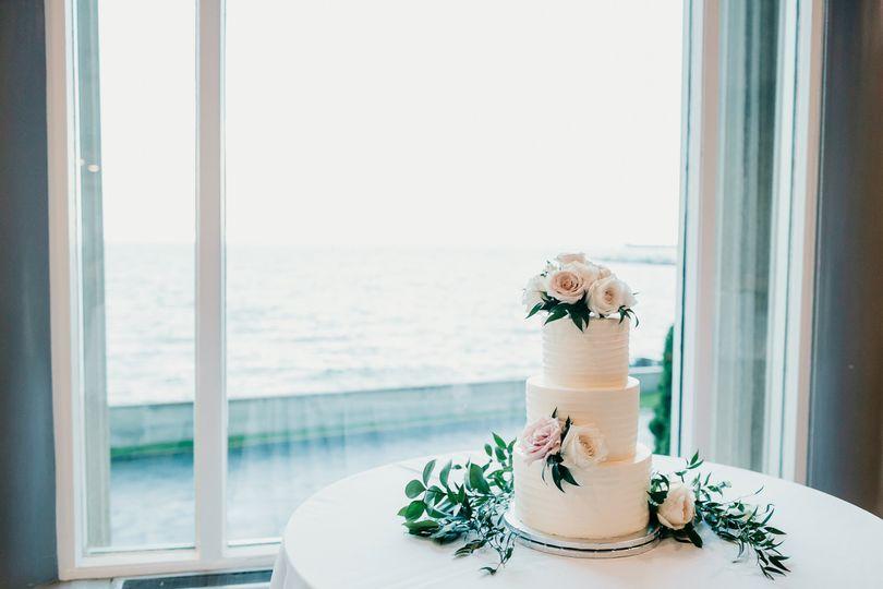 Cake by Morning Glory Bakery
