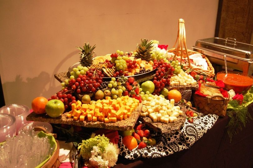 Fruit and Cheeses