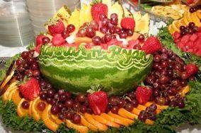 Assorted fruit buffet