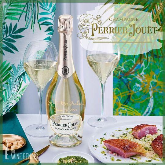 Perrier-Jouet   Engraved