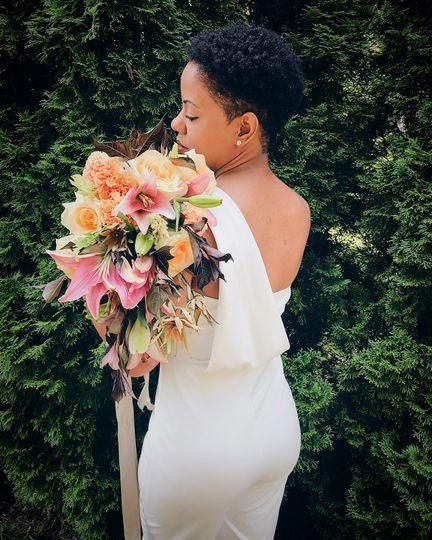 Chrystal's wedding