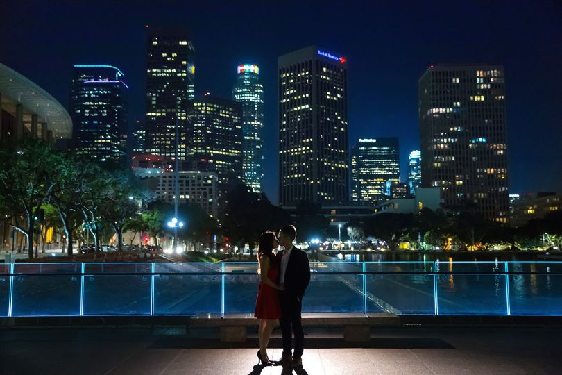 downtown los angeles engagement photography 0011