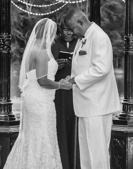 Prayer at the altar