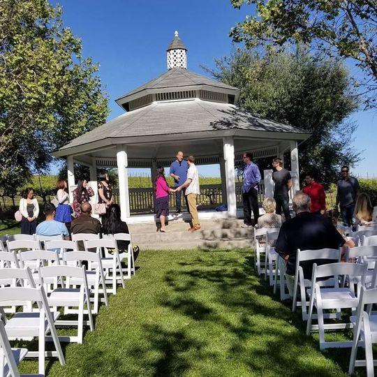 Wedding ceremony rehearsals