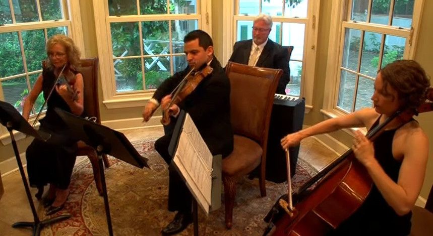 Vermilion strings' piano quartet