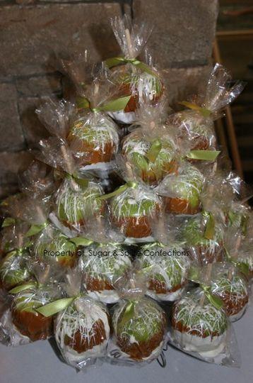 Wedding Favors (Caramel Apples)